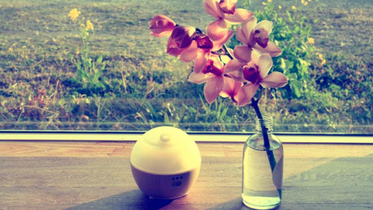 春の心にアロマを